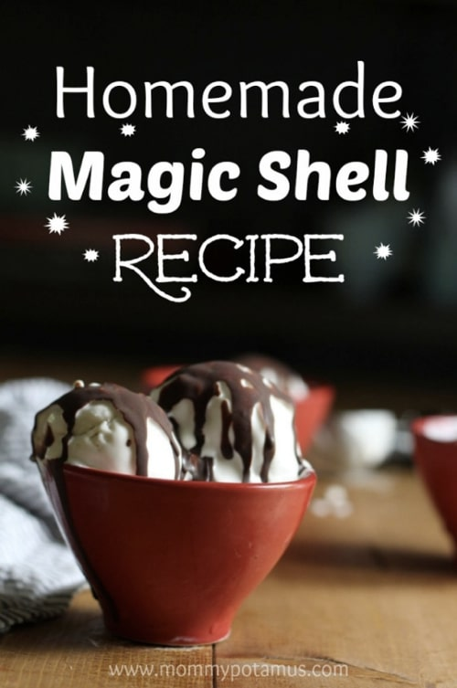 Homemade Magic Shell Recipe - Homestead & Survival