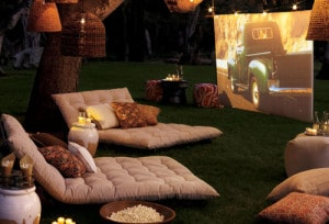 How To Make A Backyard Movie Screen