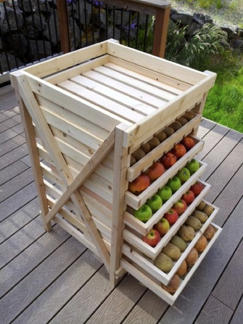 How-To-Make-A-Food-Storage-Shelf