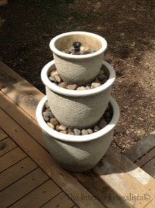 How To Make A Plant Pot Water Fountain