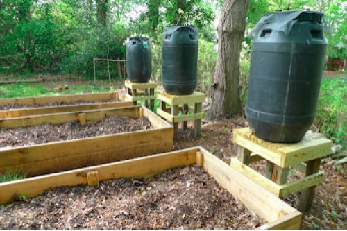 How To Make A Rain Barrel System To Water Your Garden