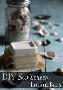 How To Make Homemade Sunscreen Lotion Bars