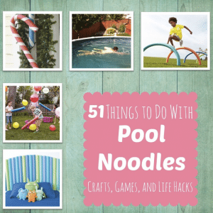 51 Things To Do With Pool Noodles