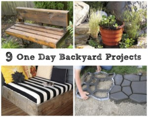 9 One Day Backyard Design Projects