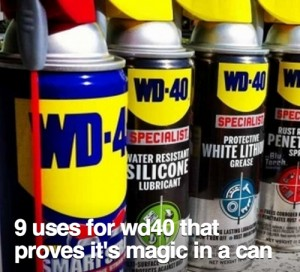 For WD40 That Proves It's Magic In A Can