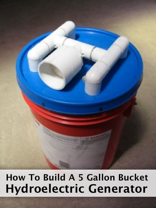 How To Build A 5 Gallon Bucket Hydroelectric Generator