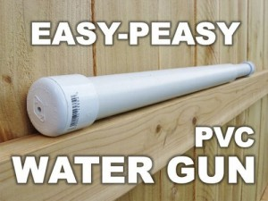 How To Build A Toy Water Gun With PVC