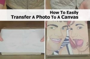 How To Transfer A Photo To Canvas