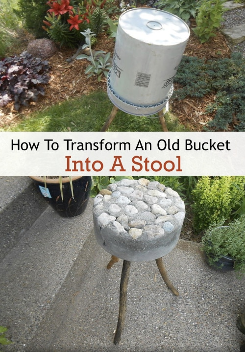 How-To-Transform-An-Old-Bucket-Into-A-Stool