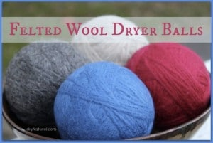 How To Make Natural Wool Dryer Balls