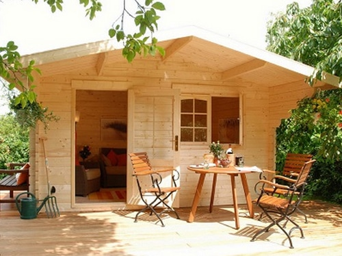How to build a cabin in a weekend for under 5000 for Cottage cabins to build affordable
