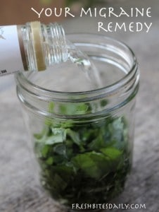 Your New Natural Migraine Remedy: A Simple And Inexpensive Herbal Tincture