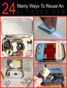 24  Manly Ways To Reuse An Altoids Tin