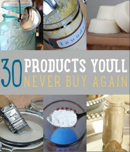 30 Homemade Household Products Hacks – Never Buy These Products Again!
