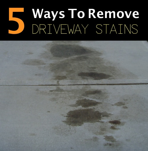 5-Ways-To-Remove-Driveway-Stains