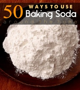 50 Ways To Use Baking Soda Around The Home