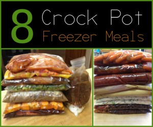 8 Easy And Delicious Crock Pot Freezer Meals