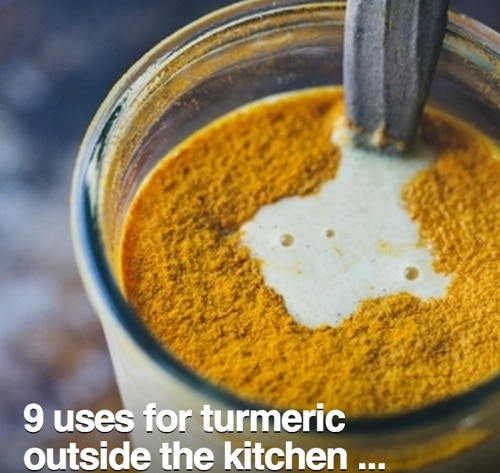 9 Uses For Turmeric Outside The Kitchen