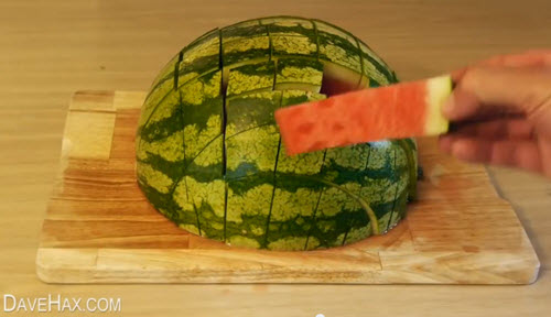 A Great Way To Eat & Serve A Watermelon