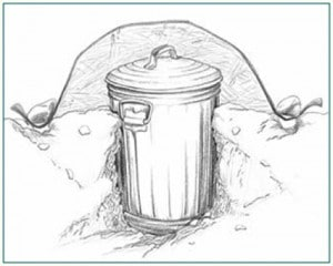 Building A Root Cellar With A Trashcan