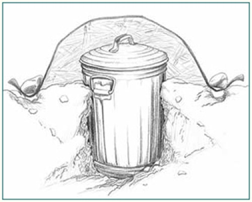 Building-A-Root-Cellar-With-A-Trashcan