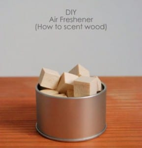 DIY Air Freshener (How To Scent Wood)