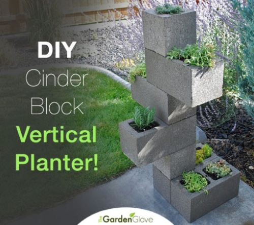 DIY-Cinder-Block-Vertical-Planter