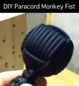 DIY Paracord Monkey Fist Instructions