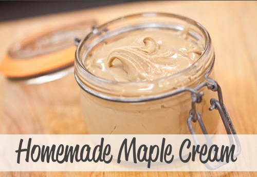 Homemade Maple Cream Recipe