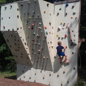 How To Build An Outdoor Climbing Wall