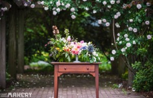 How To Create A Floral Centerpiece With A Cake Stand
