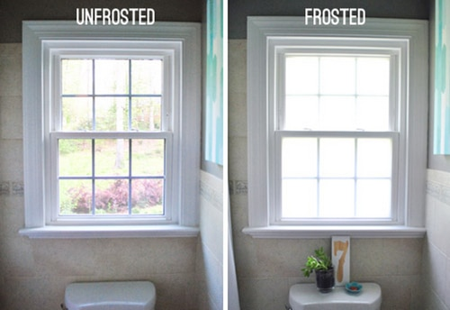 How To Frost Windows