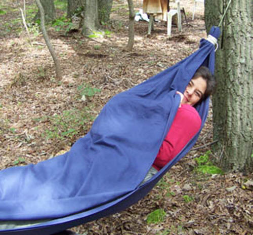 How-To-Make-A-Bed-Sheet-Hammock - 1