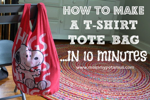 How-To-Make-A-No-Sew-T-Shirt-Bag-In-10-Minutes