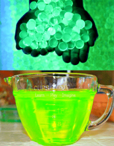 How To Make Glow Water And Water Beads
