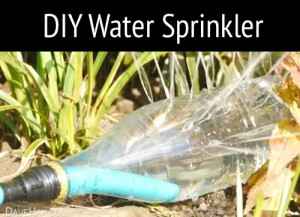 How To Make Homemade Water Sprinklers
