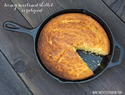 How-To-Make-Honey-Sweetened-Skillet-Cornbread