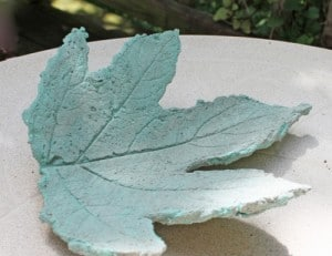 How To Make Oak Hydrangea Leaves From Concrete