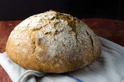 How To Make Whole Grain No Knead Sourdough Bread