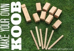Make Your Own Koob (The Best Lawn Game Ever)