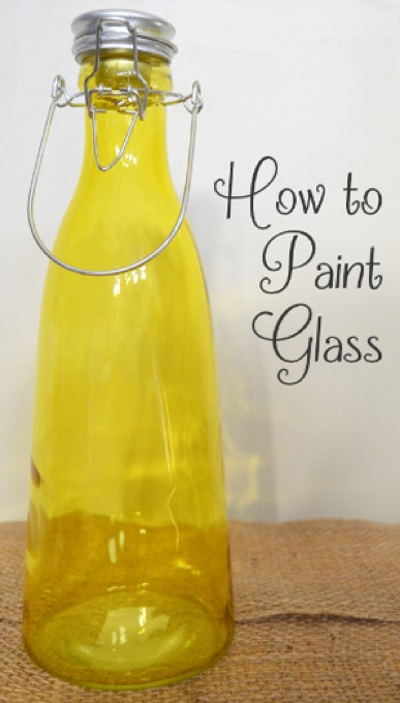 How-To-Paint-Glass