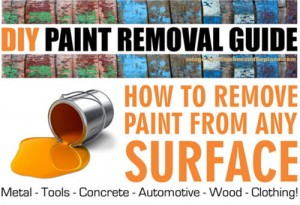 How To Remove Paint From This Or That – Paint Removal Guide