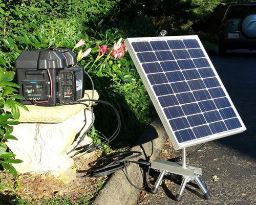 Mobile-Sun-Tracking-Solar-Power-Plant