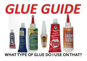 What's The Best Adhesive To Glue This To That? Glue Guide Chart