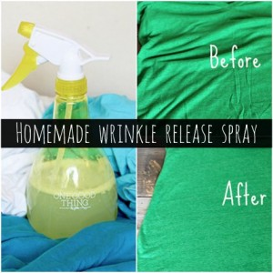 How To Make Homemade Wrinkle Release Spray