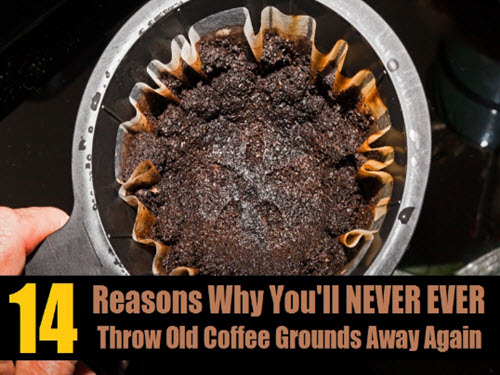 14-Genius-Ways-To-Recycle-Used-Coffee-Grounds
