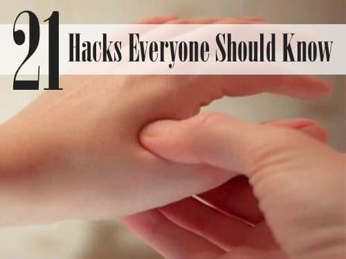 21 Health Hacks Everyone Should Know