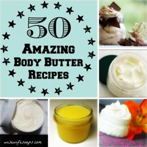 50 Top Body Butter Recipes