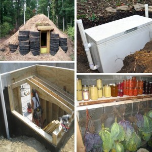 6 Low-Budget DIY Root Cellar Ideas