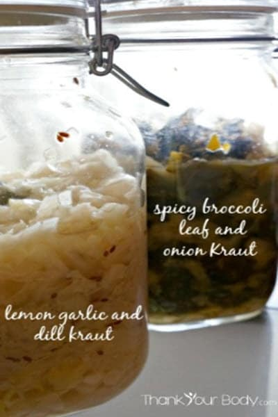 Basic Sauerkraut Recipe And Variations